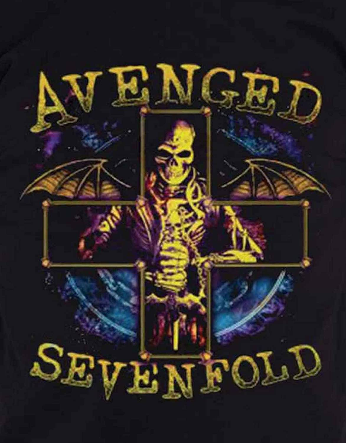 Official Avenged Sevenfold Galaxy T-shirt Unisex Waking The Fallen Stage Band