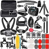 Neewer 50-en-1 Kit d'accessoires pour caméra d'action , compatible avec GoPro Hero9 / Hero8 / Hero7, GoPro Max, GoPro...