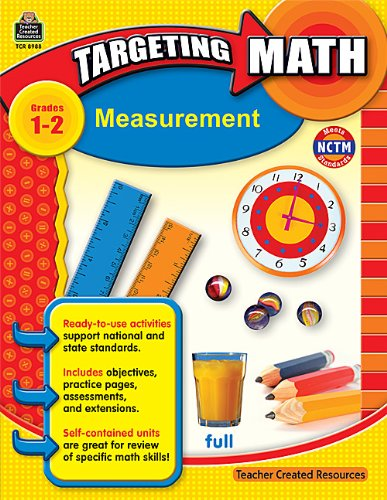 Teacher Created Resources 8988 Teacher Created Resources Targeting Math, Measurement, Grades 1-2