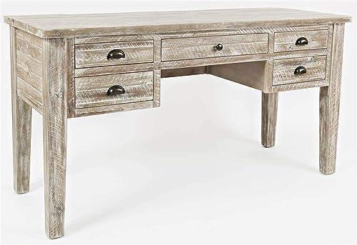 Jofran 1743-58 Artisan's Craft 5-Drawer Desk