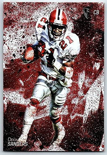 Football NFL 2014 Topps Fire #23 Deion Sanders NM-MT Falcons