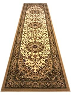 Traditional Area Rug Runner 32 In. X 10 Ft. Bellagio 401
