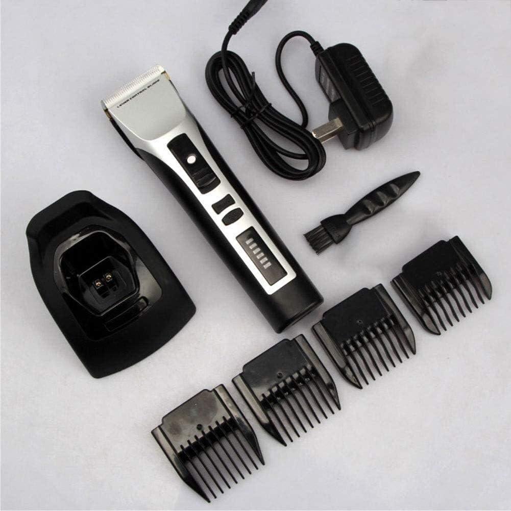 ZLL - Máquina de corte de pelo para perros, recargable, de bajo ruido, cortapelos sin cables, cuchillas desmontables, kit de aseo profesional