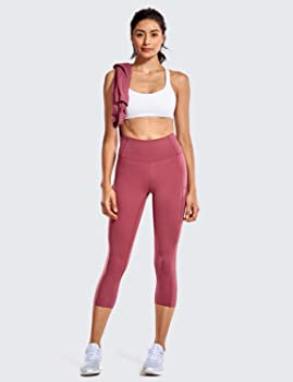 CRZ YOGA Sujetador Deportivo Yoga para Mujer Ejercicio Fitness Ropa Interior