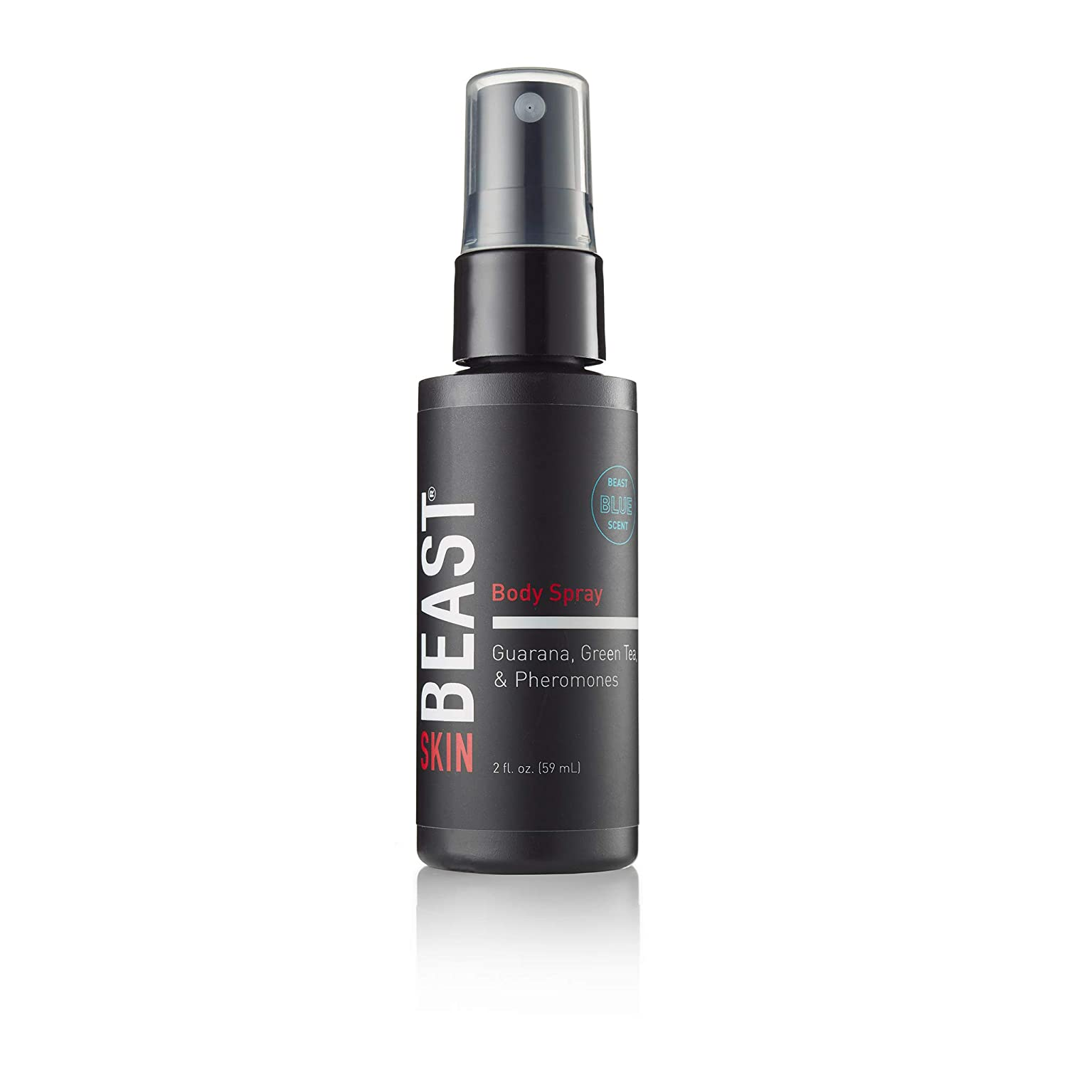 Beast Men's Body Spray with Pheromones - Naturally Derived to Power Natural Attractiveness - Non-Toxic Masculinity - Dye Phthalate Paraben Cruelty Free & USA Made by Tame the Beast