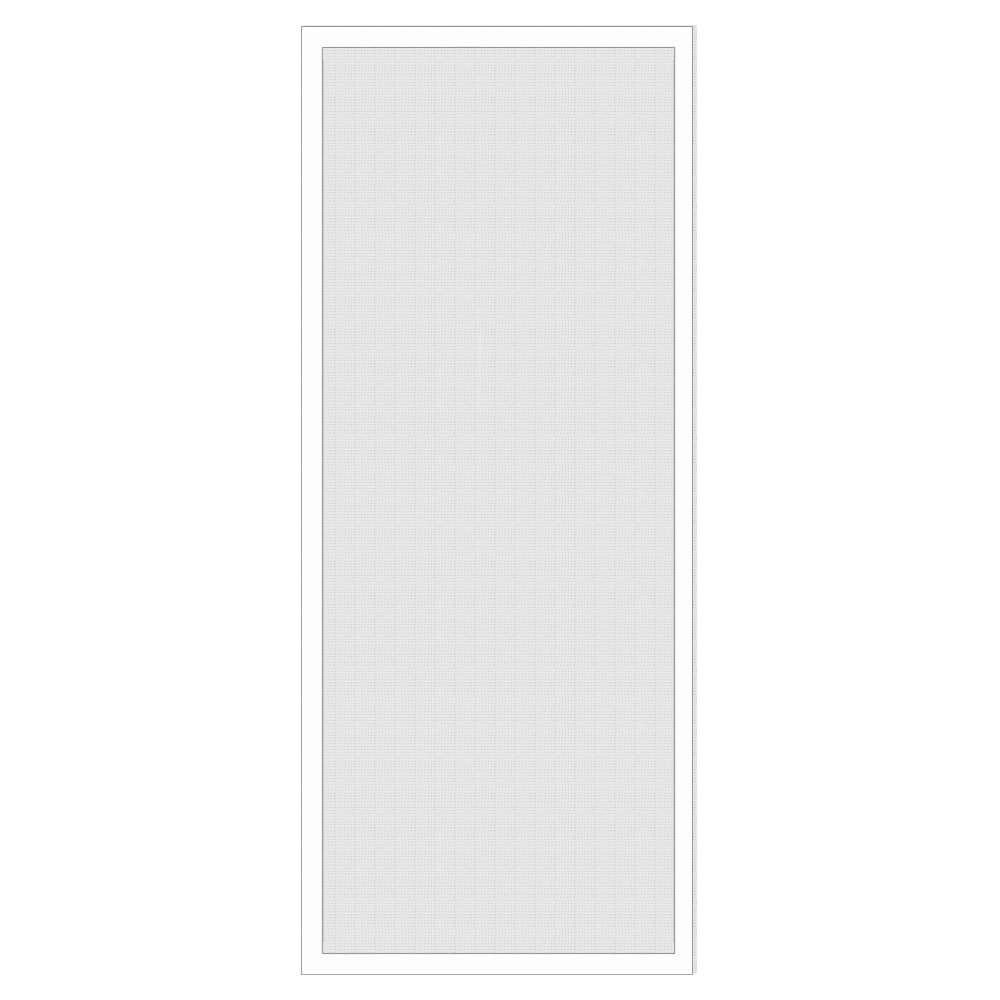 National Door Company Z009462 Aluminum White Patio Screen Door, 30'' x 80''