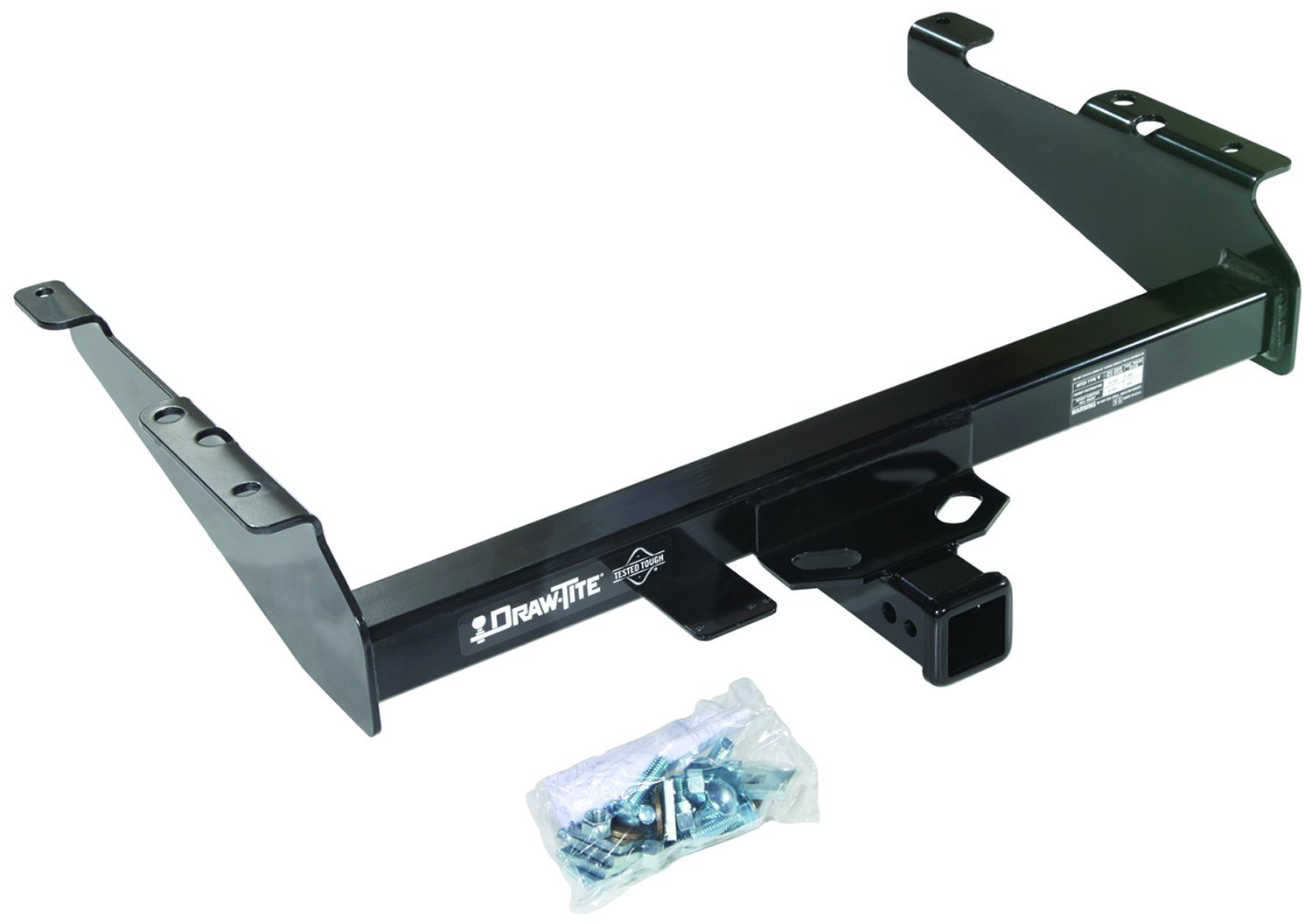 DRAW TITE 41536 Max-E Loader Hitch with 2 Square Receiver Tube Opening Draw-Tite