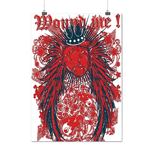 Mound Me Heart Royal Love Queen Matte/Glossy Poster A3 (12x17 inches) | Wellcoda