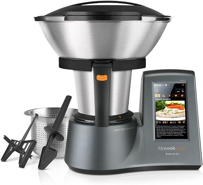 Taurus Mycook Touch Robot de Cocina, wifi, 1600 W, 2 L, hasta 140 ...