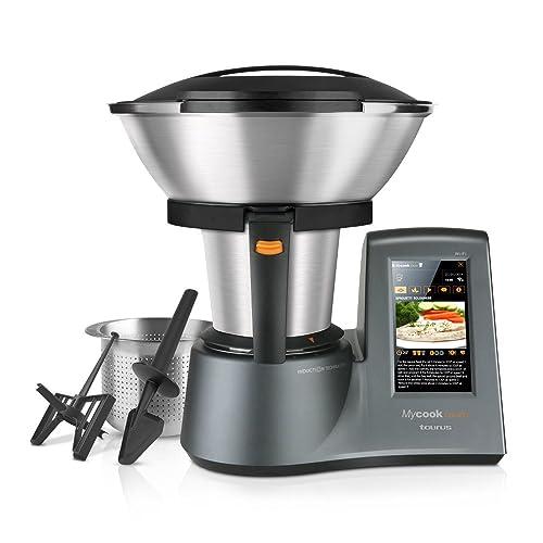 Taurus Mycook Touch - Robot de cocina por inducción de 40 a 140º C, pantalla