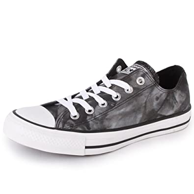 cffc978bca30 Converse Chuck Taylor All Star Tie Dye Ox 142451F Unisex Laced Textile  Trainers Black White - 3  Amazon.co.uk  Shoes   Bags