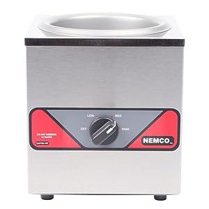 Nemco Food Equipment 6055A B004RXH8PQ Single Well Countertop Warmer, 4 Quart-1 each, 1 1