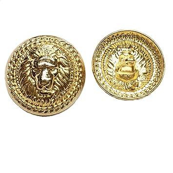 Botones de metal de oro león Metal Blazer botón - para ...