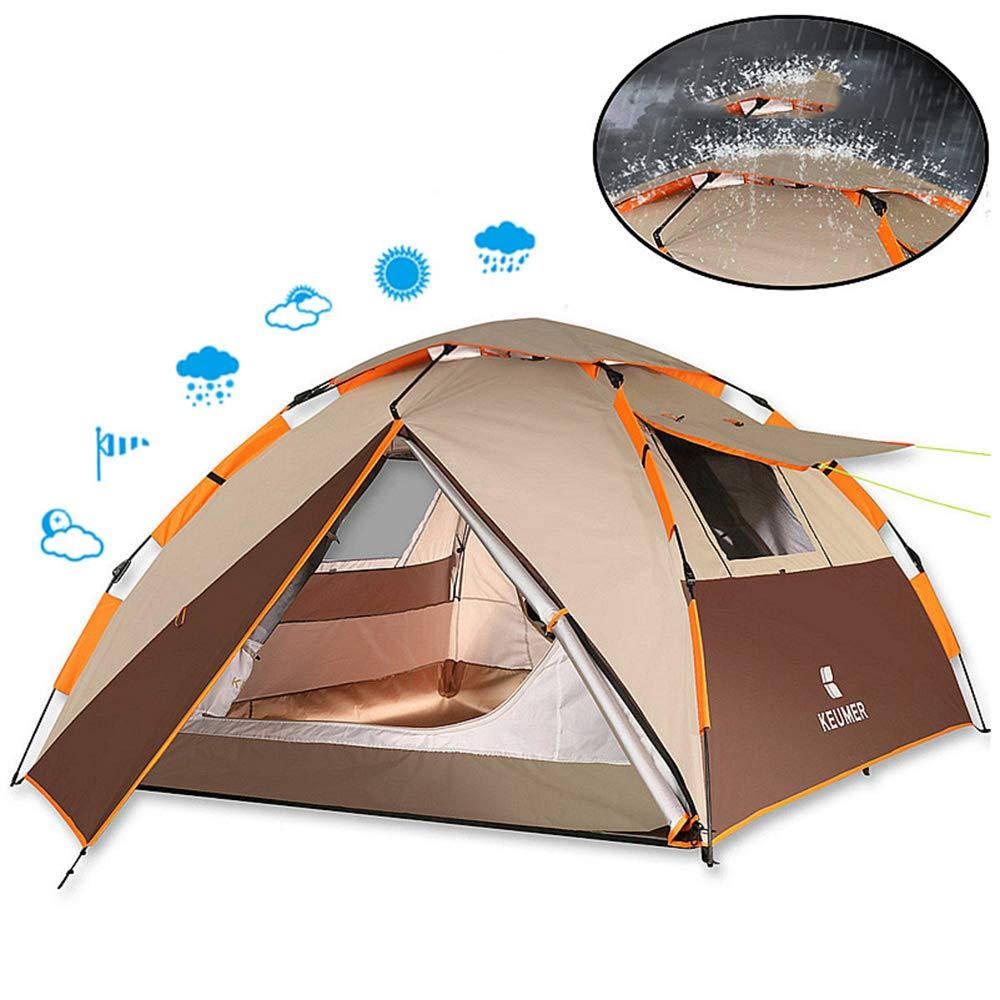 MJW Camping Zelt Regenzelt Outdoor Automatik Zelt Camping Strand Wildes Regenzelt Zelt 3-4  Herrenchen 0b024d