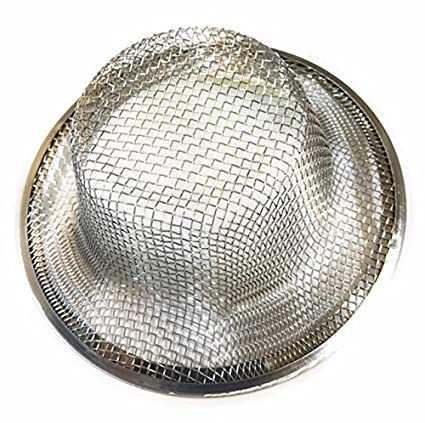 Amazon.com: 2 pcs Kitchen Sink Strainer- Made in USA - Fits standard ...