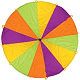 Pacific Play Tents Playchute 10 Foot Kids Parachute with Handles for Indoor / Outdoor Fun