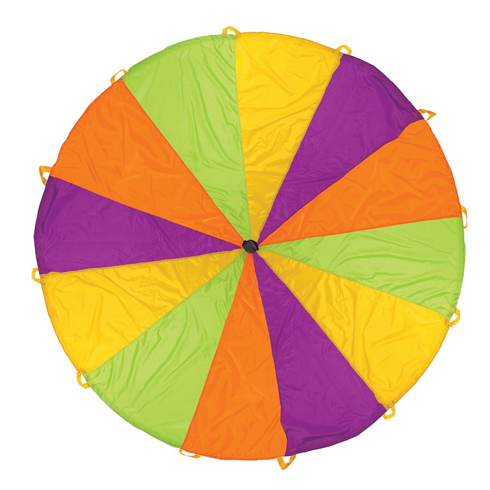Pacific Play Tents Playchute 10' Parachute (Colors May Vary)