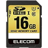 【2014年モデル】エレコム SDカード SDHC MLC採用 UHS-1 耐熱 耐衝撃 防水 16GB Class10 MF-CASD016GU11