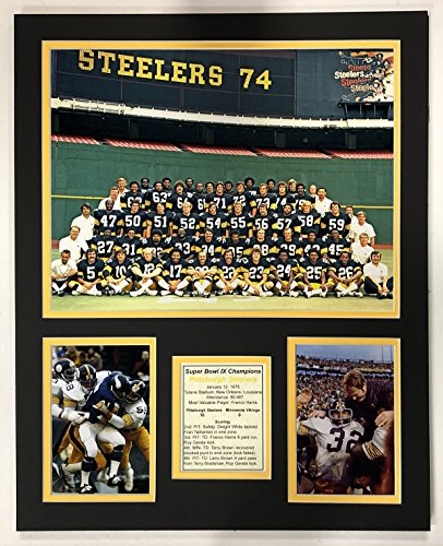 1974 Pittsburgh Steelers - Super Bowl IX Champions 16