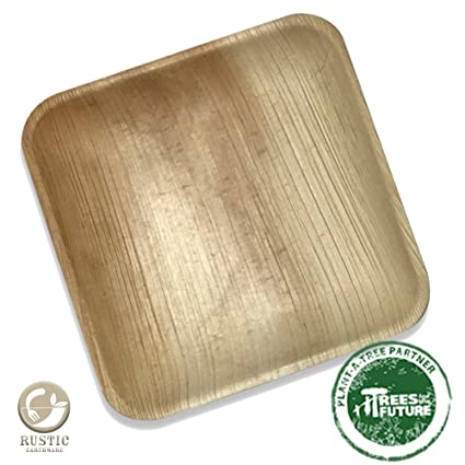 Palm Leaf Square Plates | 25 Pack of 8\u0026quot; Eco Friendly Disposable Dinnerware by Rustic  sc 1 st  Amazon.com & Amazon.com: Palm Leaf Square Plates | 25 Pack of 8"|425|425|?|en|2|7656c8fe3dcdcf2b316d96684ac149e2|False|UNLIKELY|0.32816991209983826