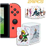 24 Pcs NFC Tag Game Cards for The Legend of Zelda - Breath of The Wild (BotW), Compatible for Switch/Wii U/3DS XL with Card C