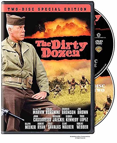 The Dirty Dozen TWO-DISC SPECIAL EDITION DVD War 2 Pack Military Movie Special Edition Sequel The Next Mission Movie Set by Warner Bros.
