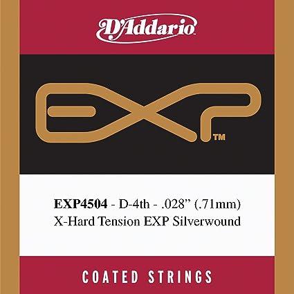 DAddario EXP4504 - Cuerda individual recubierta para guitarra ...