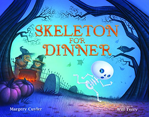 Skeleton for Dinner (Halloween Dinner Party Menu Ideas)