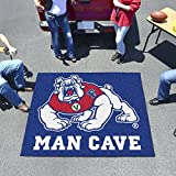 """Fan Mats Fresno State Man Cave Tailgater Rug 60""""X72"""""""