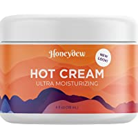 Hot Cream Cellulite Treatment – Belly Fat Burner for Women and Men – Natural Anti Aging Cream with Antioxidants and…
