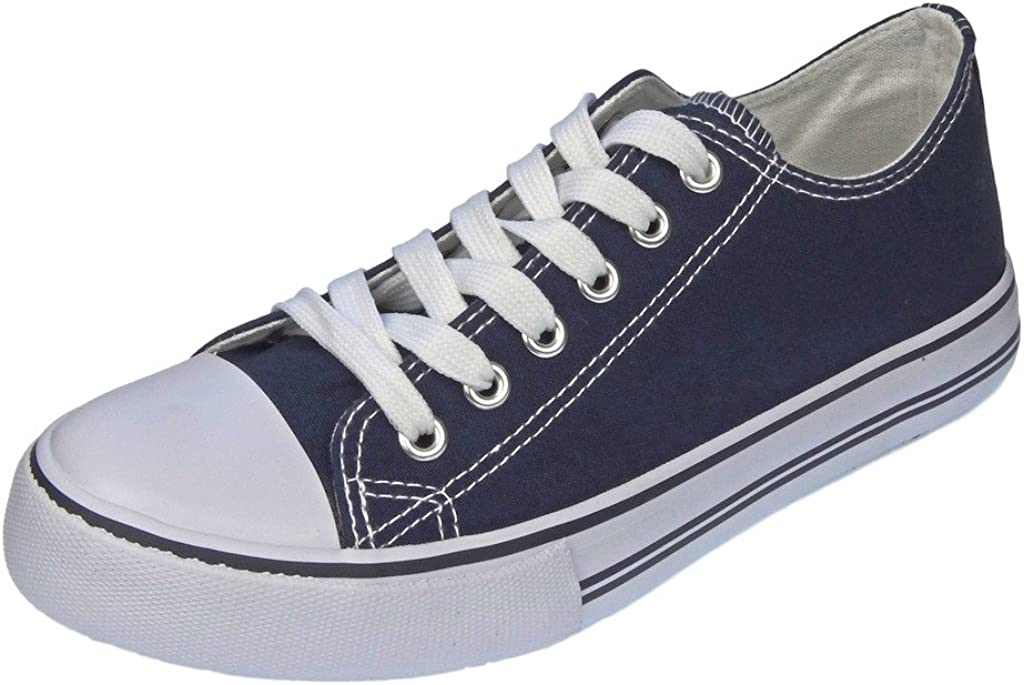 Fashion Canvas Lace-Up Sneakers: Amazon