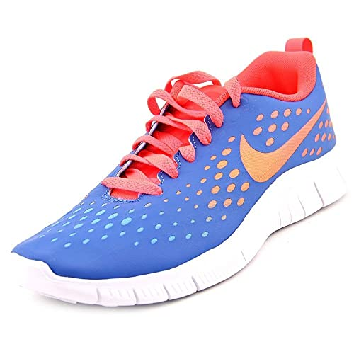 c069ca31ee5a Nike Girls Free Express Running Shoes-Military Blue-5