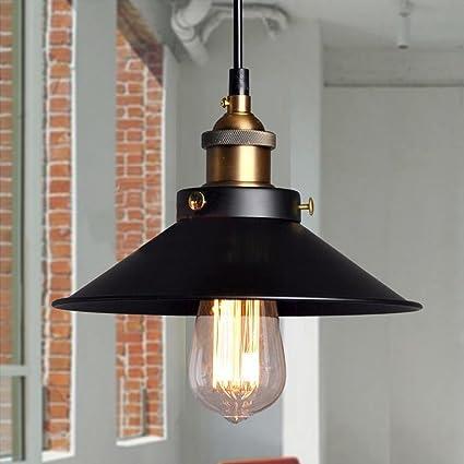 Las luces del techo de la vendimia industrial colgante Retro cortinas de la lámpara de la fábrica de Edison