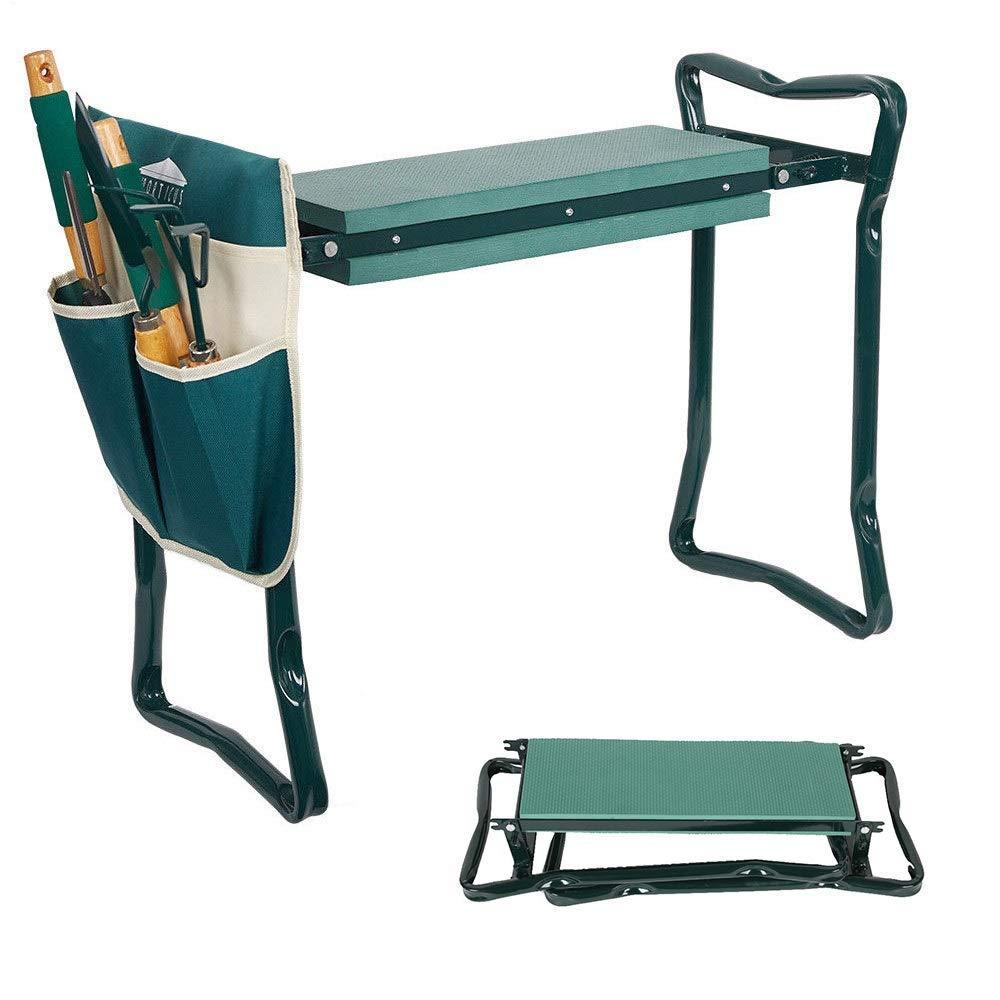 2PCS Portable Kneeling Garden Kneelers Seat Buckle Tool Belt Waist Bags Outdoor