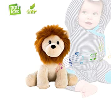 Peluche relleno - Morbuy Sweet Zoo regalo de Navidad para bebés - Con sonidos de la