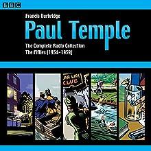 Paul Temple: The Complete Radio Collection: Volume Two: The Fifties Radio/TV Program Auteur(s) : Francis Durbridge Narrateur(s) : Marjorie Westbury, Peter Coke