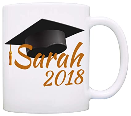amazon com personalized graduation cap gifts mug unique grad