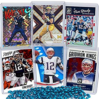 Amazon.com  Tom Brady Football Card Bundle 7db9e0a12