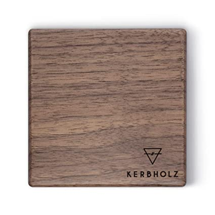 Kerbholz Holz Deko Magnetleiste Aus Echtem Walnuss Holz Multifunktional Schlusselbrett Aus Holz Messermagnet Mit Starkem Magnet