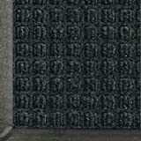 "Andersen 200 WaterHog Classic Polypropylene Fiber Entrance Indoor/Outdoor Floor Mat, SBR Rubber Backing, 5' Length x 3' Width, 3/8"" Thick, Charcoal"