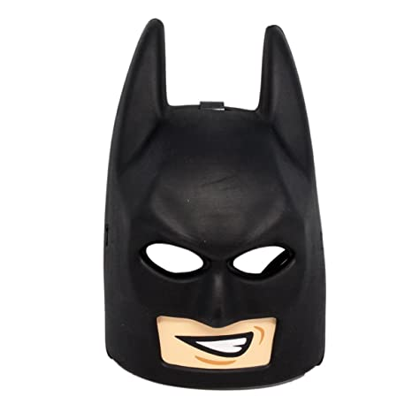 Amazon.com: THE LEGO BATMAN MOVIE BATMAN MASK COSTUME 853642: Toys ...