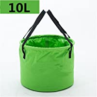 Holzsammlung Foldable Bucket Collapsible Water Carrier Container Bag For Camping, Hiking, Travel etc.