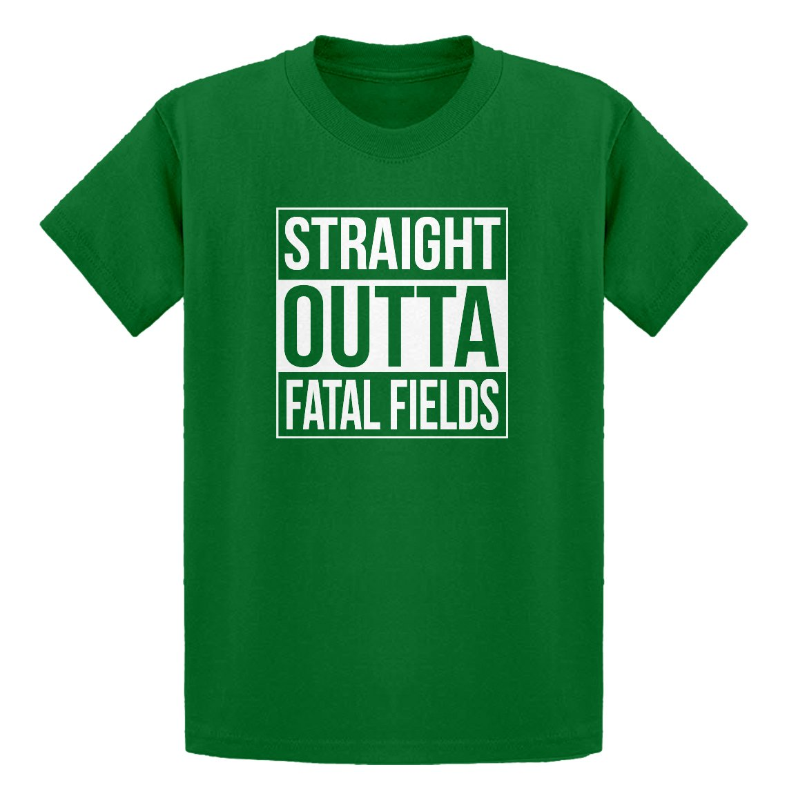 Indica Plateau Straight Outta Fatal Fields Youth T-Shirt 3352-Y