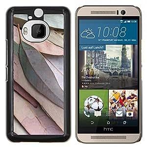 Stuss Case / Funda Carcasa protectora - Deja la caída del otoño verde Naturaleza Árbol - HTC One M9+ M9 Plus