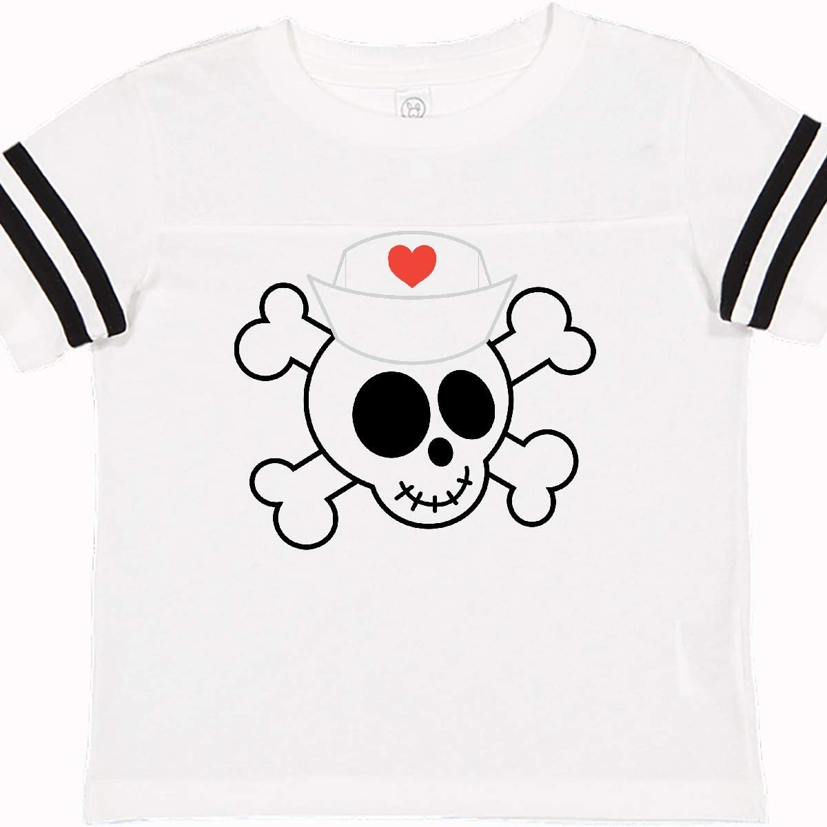 inktastic Nurse Skull Cute Toddler T-Shirt