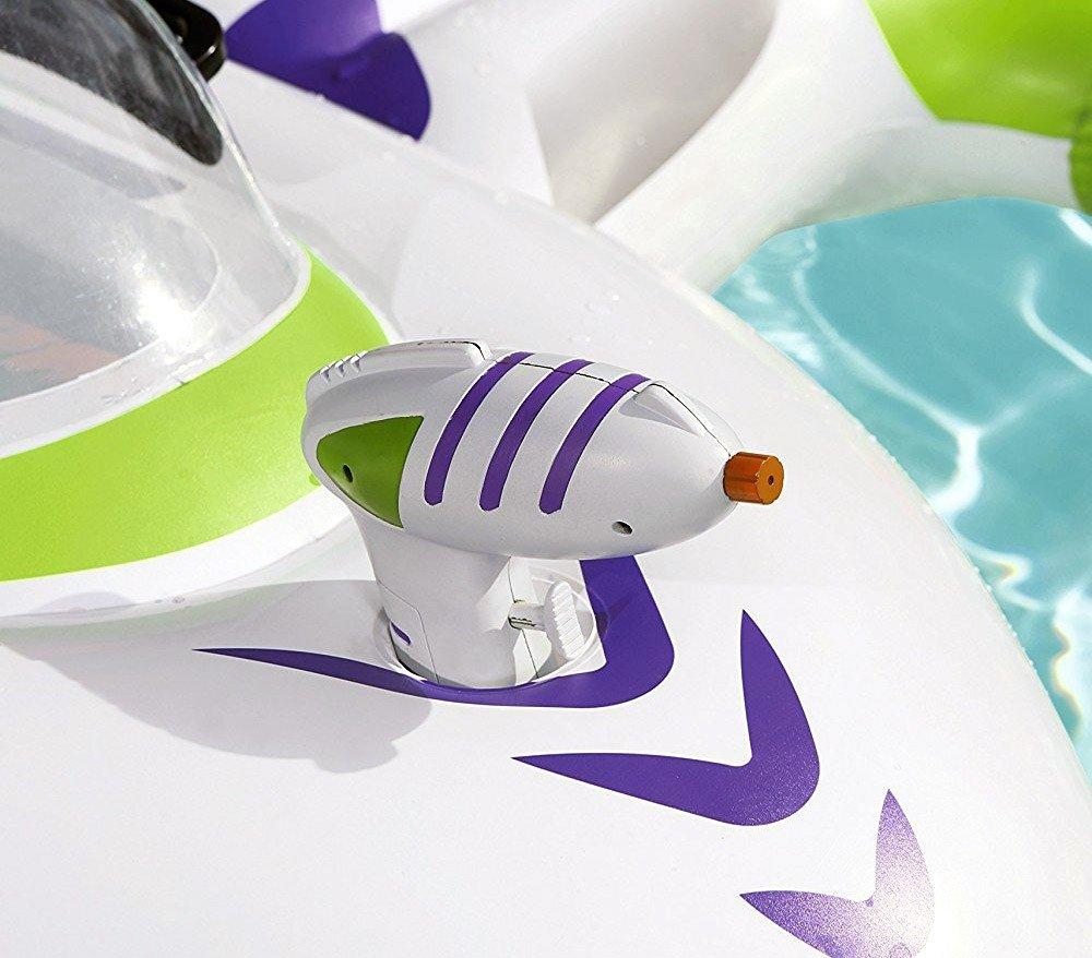 41094 Hinchable forma de nave espacial con pistola de agua ...