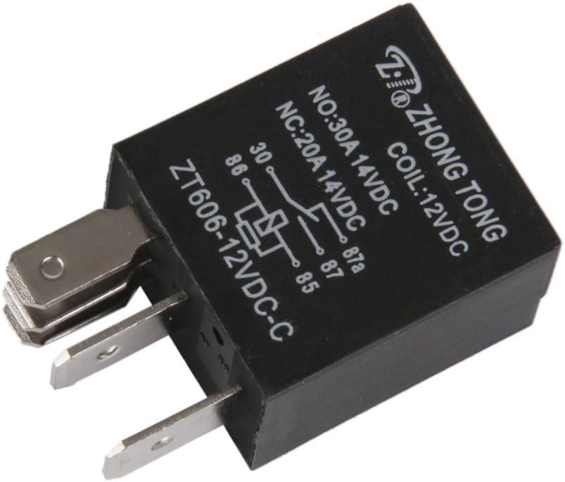 5P Relais relay module Camion Voiture Auto Automobile 12V 20A//30A Amp/ères