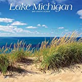 Lake Michigan 2019 12 x 12 Inch Monthly Square Wall Calendar, USA United States of America Travel Scenic Great Lakes (Multilingual Edition)