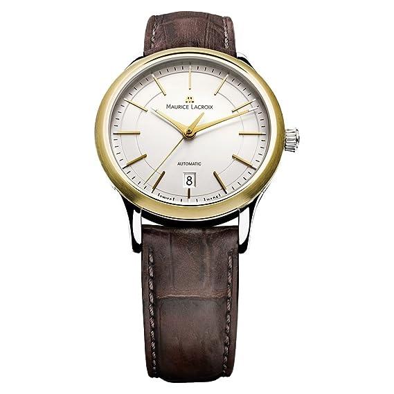 Maurice Lacroix LC6017-YS101-130 Maurice Lacroix LC6017-YS101-130 Reloj De Hombre: Amazon.es: Relojes