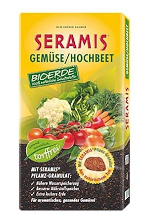 seramis verduras de Bancal bioerde sin turba 40 L